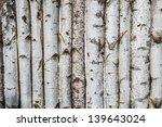 Birch Wooden Background