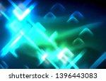 neon glowing techno lines  hi...   Shutterstock .eps vector #1396443083