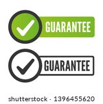 quality guarantee. stamp.... | Shutterstock .eps vector #1396455620