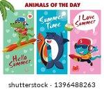 vintage summer food poster...   Shutterstock .eps vector #1396488263