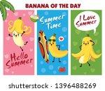 vintage summer poster design... | Shutterstock .eps vector #1396488269