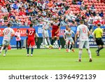 fc dallas matt hedges  24  and... | Shutterstock . vector #1396492139