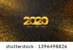 happy new 2020 year. vector... | Shutterstock .eps vector #1396498826