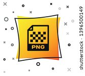 black png file document icon.... | Shutterstock .eps vector #1396500149