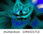 abstract fractal light... | Shutterstock . vector #1396521713