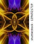 abstract fractal light... | Shutterstock . vector #1396521719