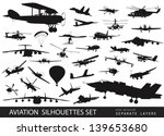 aviation vectors. vintage and...