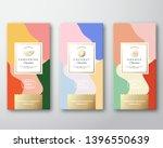 tangerine  orange and coconut... | Shutterstock .eps vector #1396550639