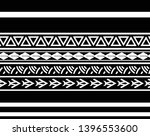 tribal pattern tattoo ... | Shutterstock .eps vector #1396553600