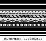 tribal pattern tattoo ... | Shutterstock .eps vector #1396553633