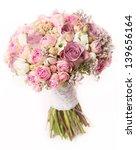 wedding bouquet with rose bush  ... | Shutterstock . vector #139656164