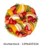 homemade mixed fruits cake ... | Shutterstock . vector #1396605326