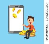 business concept cartoon... | Shutterstock .eps vector #1396606100