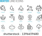 set of water icons  such as ... | Shutterstock .eps vector #1396659680