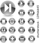 web icon set | Shutterstock .eps vector #13966645