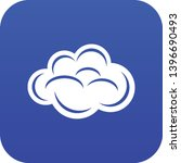internet cloud icon blue vector ...