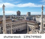 milano  italy. april 27  2019.... | Shutterstock . vector #1396749860
