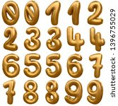 3d numbers balloon you can use... | Shutterstock . vector #1396755029