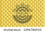injure gold badge. scales...   Shutterstock .eps vector #1396786910