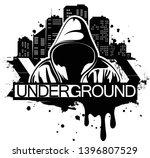 urban style illustration of man ... | Shutterstock .eps vector #1396807529