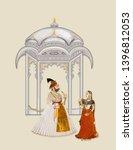 Mughal Art Painting...
