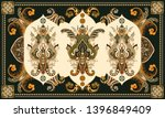 colorful hungarian vector... | Shutterstock .eps vector #1396849409