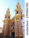 san ildefonso church was... | Shutterstock . vector #1396861730