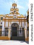 the basilica of santa maria de... | Shutterstock . vector #1396879460