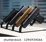 Gun rack with glock 19  glock...