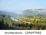 view on gauja valley in spring...   Shutterstock . vector #139697983