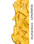corn nachos on white background | Shutterstock . vector #139698934