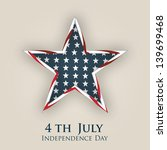 4th of july  american... | Shutterstock .eps vector #139699468
