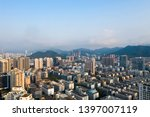 a drone aerial view of the city | Shutterstock . vector #1397007119