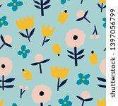 super cute seamless pattern...   Shutterstock .eps vector #1397056799