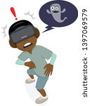cartoon character. african boys ...   Shutterstock .eps vector #1397069579