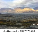 ladakh mountains series view.... | Shutterstock . vector #1397078543
