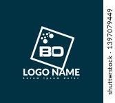 bo company linked letter logo...