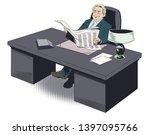 stock illustration. happy...   Shutterstock .eps vector #1397095766