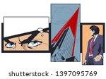 stock illustration. collage on...   Shutterstock .eps vector #1397095769