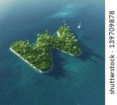 island alphabet. paradise... | Shutterstock . vector #139709878