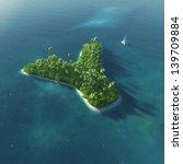 island alphabet. paradise... | Shutterstock . vector #139709884