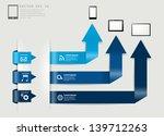 modern minimal business step... | Shutterstock .eps vector #139712263