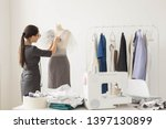 people and fashion concept  ... | Shutterstock . vector #1397130899