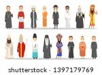 people of different religion... | Shutterstock . vector #1397179769