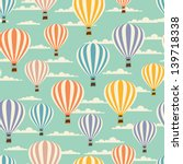 Retro Seamless Travel Pattern...