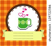 vector love card. use for...   Shutterstock .eps vector #139722586