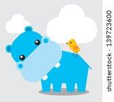 Little Blue Hippopotamus...