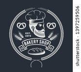 bakery or bread shop logo ... | Shutterstock .eps vector #1397259506