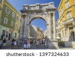 pula  croatia   september 05... | Shutterstock . vector #1397324633