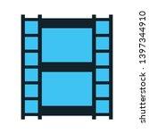 camera film icon. logo element...   Shutterstock .eps vector #1397344910